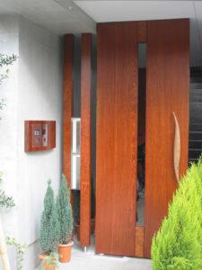 門扉とポスト(屋外3)