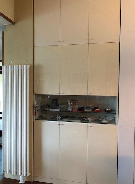 既存食器棚と収納